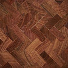 End Grain Parquetry in Spotted Gum - herringbone pattern Wood Block Flooring, End Grain Flooring, Unique Flooring, Wide Plank Flooring, Timber Flooring, Hardwood Floors, Timber Companies, Parquetry, Herringbone Pattern