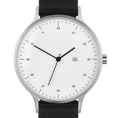 The Instrmnt 01 takes inspiration from the industrial design of the mid century and the desire for a watch that paired high quality Swiss components with simple, utilitarian design. Cheap Watches, Watches For Men, Bauhaus Watch, Dezeen Watch Store, Fashion Design, Industrial Design, Clocks, Bedding, Minimal
