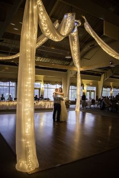 1st dance as man & wife at The Silo in Allegan, MI.