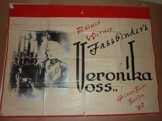 UK Quad, Veronika Voss (1982).  Director: Rainer Werner Fassbinder. Stars: Rosel Zech, Hilmar Thate, Cornelia Froboess