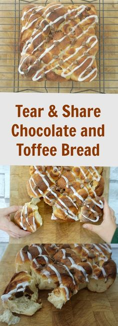 A Strong Coffee: Tear And Share Chocolate and Toffee Bread