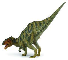 """Afrovenator - El Afrovenator era un dinosaurio depredador carnívoro. Estaba provisto de dientes muy agudos y tres garras en cada mano. Su nombre significa """"Cazador Africano"""". Alto: 7 cm Largo: 17 cm Edad: a partir de 3 años Marca: Collecta Ref. 30279 Precio: 8.00 € IVA incluido"""