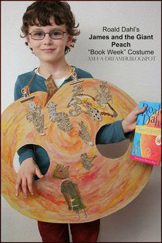 "am i a dreamer?: Roald Dahl's: ""James and the Giant Peach"" Book Week Costume"