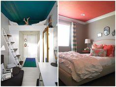 Pastelowy domek: Kolorowe sufity