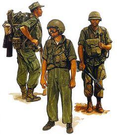 """USMC: • Mortarman; De-militarized Zone, 1967 • Armoured crewman; Hue City, 1968 • Artillery officer; Khe Sanh, 1968"", Paul Hannon"