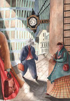 Holly Clifton-Brown Fantasy Book Covers, Fantasy Books, Children's Book Illustration, Graphic Design Illustration, Holly Brown, Watercolor Sketch, Magazine Art, School Design, Light In The Dark