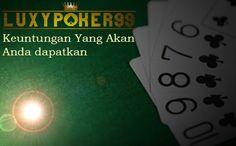 pada saat anda bermain di Agen Judi Poker Online Terpercaya akan banyak sekali keuntungan yang akan anda dapatkan, bahkan agen tersebut telah menyediakan