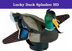 Lucky Duck Splasher HD. Otter 201046 3 Pocket Cargo Storage. Splashier (Floating Spinner). Model # 21-10116-2. Brand name Lucky Duck. Waterfowl Decoys & Accessories. Item weighs 6.08 pounds.