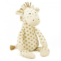 Jellycat Georgie Giraffe for Baby with Organza Pull String Bag Soft Toys Making, Pram Toys, Baby Wish List, Giraffe Toy, Shops, Jellycat, House Gifts, Fun Cup, Childrens Gifts
