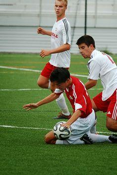 Team America 96 (2014 OBGC Capital Cup, U18/U19 Premiere) vs ABGC United (August 30, 2014) -- Haruto Kato #4 (TAFC96 Soccer)