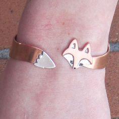Wrap Around Fox Bracelet