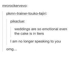 Wedding cake pun !!!! :D:D:D:D:D:D:D:D