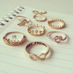 【Jewelry in My Box】adorable rings