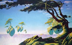 Floating Islands by Roger Dean
