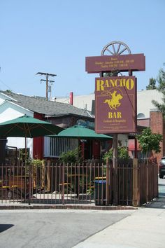 "The Rancho -- popular ""watering hole"" 2485 N. Lake Ave., Altadena, CA"