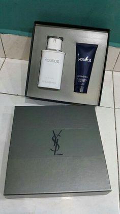 Set ysl kouros man *100ml perfume  *100ml shower gel RM250