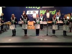 Orff Drum Corps directed by Tim Wiegand - YouTube