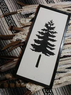 Check out this item in my Etsy shop https://www.etsy.com/ca/listing/573174285/pine-tree-wood-sign