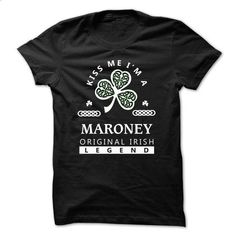 [SPECIAL] Kiss Me Im a MARONEY - #hoodie with sayings #sweatshirts. MORE INFO => https://www.sunfrog.com/Names/[SPECIAL]-Kiss-Me-Im-a-MARONEY-AF1D30.html?68278