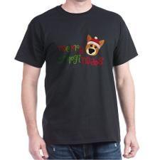 Merry Corgimas T-Shirt - Gift Ideas for Dog Lovers (CafePress.com)