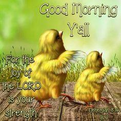 Good Morning Y'all