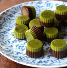 Matcha Maiden   Organic Green Tea #Matcha Powder   Matcha Green Goodness Chocolate #recipe from The Merrymaker Sisters on www.matchamaiden.com