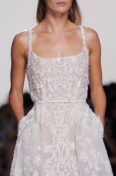 "Elie Saab Spring 2014 - Details | ""elegant beach wedding"""