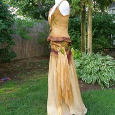 Nuno Felted Woodland Fairy Skirt. Elven Pixie by Twigsimmortalized