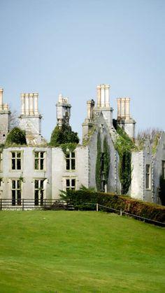 Abandoned: Knocknatrina House, Durrow, County Laois Ireland