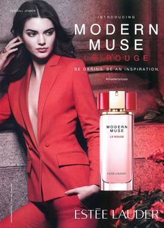 Estee Lauder Fragrance Advertising with Kendall Jenner Kendall Jenner, Estee Lauder Fragrances, Perfume Adverts, Diy Fragrance, Modern Muse, Iconic Women, Advertising Campaign, Trends, Makeup Looks