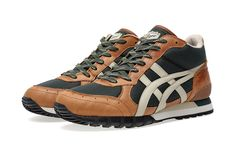 Onitsuka Tiger Colorado Eighty-Five MT Forest Green/Taupe (Hypebeast) Zapatos Shoes, Men's Shoes, Nike Shoes, Shoes Sneakers, Shoes Men, Sports Footwear, Men's Footwear, Shoe Sites, Nike Outlet