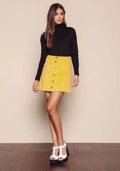 16c2b74570 The Classic Button-Up Skirt