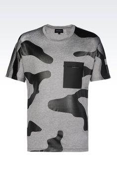 JERSEY T-SHIRT: Short-sleeve t-shirts Men by Armani - 1