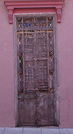 Door in Old Santa Clara Cuba
