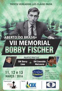 Reino de Caíssa: Disponibilizados os PGN's do VII Bobby Fischer!