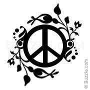 The peace sign is a universally recognized symbol and a popular tattoo design. If you are a promoter of peace, you can make a tattoo depicting the peace sign. Here is detailed information, design ideas, and pictures for the same. Vine Tattoos, Small Tattoos, Hippie Peace, Hippie Love, Hippie Art, Hippie Tattoo, Peace Sign Art, Peace Signs, Hippie