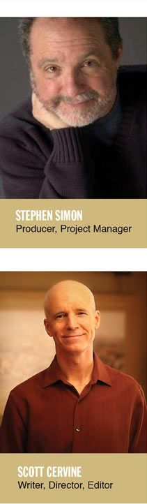 Think and Grow Rich: The Movies Producers Stephen Simon and Scott Cervine