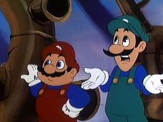 Cartoon TV Shows From the 90s | next super mario brothers super show 1 of 10