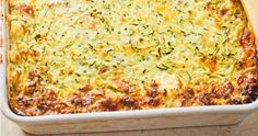 Healthy zucchini and tuna slice Freeze as much as you like to keep for pre-made lunches or eat it fresh from the oven. Zuchinni Recipes, Tuna Recipes, Quiche Recipes, Salmon Recipes, Seafood Recipes, Vegetarian Recipes, Dinner Recipes, Cooking Recipes, Healthy Recipes