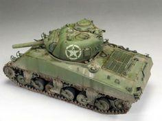 Guest Gallery: Sherman M4A3 105, 1/35, por Ruben Gonzalez