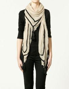 My love for scarves is somewhat unholy.