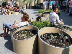 PS1 MoMA - Urban Farm by xmascarol, via Flickr