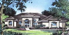 Plan W6356HD: Photo Gallery, Florida, Mediterranean House Plans Home Designs