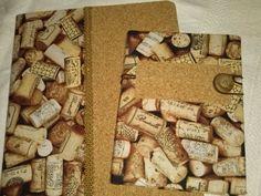 note books, cork&corks
