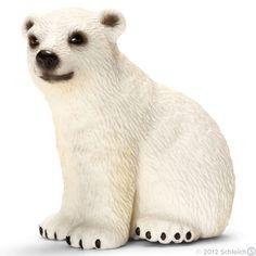 Polar Bear Cub has the cutest face ever