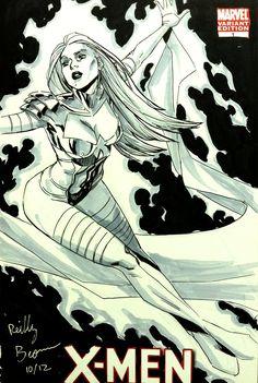 Phoenix Queen by ReillyBrown.deviantart.com on @DeviantArt