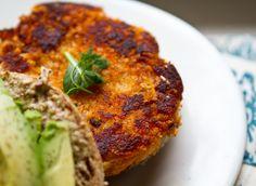 Sweet Potato Veggie Burger   Healthy Happy Life