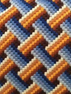 Bargello Quilt Patterns, Bargello Needlepoint, Bargello Quilts, Needlepoint Stitches, Cross Stitching, Cross Stitch Embroidery, Embroidery Patterns, Cross Stitch Patterns, Crochet Beanie Pattern