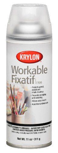Krylon 1306 Workable Fixatif Spray Clear, 11-Ounce Aerosol Krylon http://www.amazon.com/dp/B00023JE7U/ref=cm_sw_r_pi_dp_cYgcxb033F29X