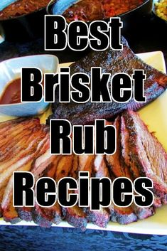 Best Brisket Rub Recipes – If you are looking for the Best Brisket Rub Recipes then you have come to the right place. I have been developing these recipes for two decades. via Derrick Riches - Best Brisket Rub Recipes Best Brisket Rub, Smoked Brisket Rub, Smoked Ribs, Dry Rub For Brisket, Best Smoked Brisket Recipe, Beef Brisket Recipes, Smoked Meat Recipes, Brisket Recipe Smoker, Brisket Meat